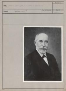 Oskar Kindler, geb. 3.10.1856 in Pabianitz