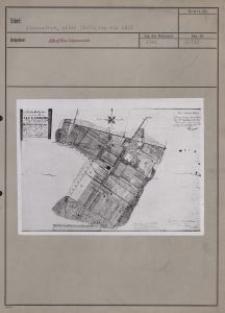 Alexandrow : alter Stadtplan von 1821