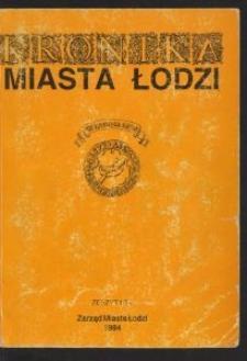 Kronika Miasta Łodzi. 1994 z. 1