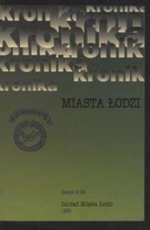 Kronika Miasta Łodzi. 1995 z. 2