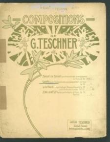 Gavotte pour Violoncello avec accompagnement du Piano / [composition de] G. Teschner, Op. 29