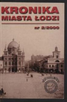 Kronika Miasta Łodzi. 2000 nr 2
