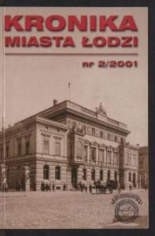 Kronika Miasta Łodzi. 2001 nr 2