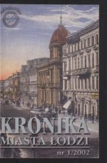 Kronika Miasta Łodzi. 2002 nr 1