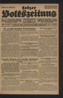 Lodzer Volkszeitung. 1928-08-01 Jg 6 Nr 212