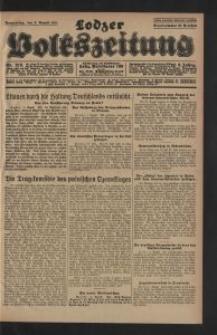 Lodzer Volkszeitung. 1928-08-02 Jg 6 Nr 213