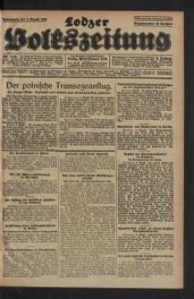 Lodzer Volkszeitung. 1928-08-04 Jg 6 Nr 215
