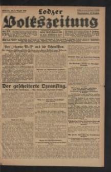 Lodzer Volkszeitung. 1928-08-08 Jg 6 Nr 219