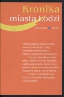 Kronika Miasta Łodzi : kwartalnik. 2008 [nr] 2