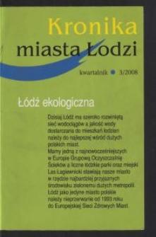 Kronika Miasta Łodzi : kwartalnik. 2008 [nr] 3