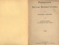 Podręcznik sztuki dramatycznej dla artystów i amatorów