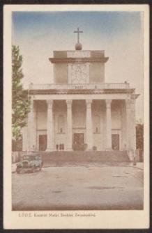 Łódź. Kościół Matki Boskiej Zwycięskiej [Dokument ikonograficzny]