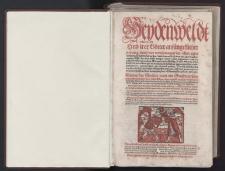 Heydenweldt Und irer Götter anfängcklicher ursprung […] Diodori des Siciliers under den Griechen berhümptsten Gschichtschreibers sechs Bücher […] : fragmenty