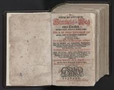 Der richtige und unbetrügliche Himmels-Wegeines Christen [...] : fragmenty