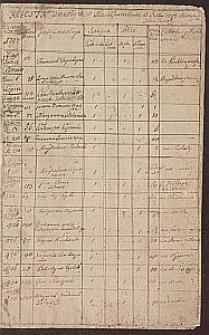 [Akta Urzędnika Stanu Cywilnego parafii Kurzelów] : Księga akt zgonów parafii Kurzelów. 1797-1811