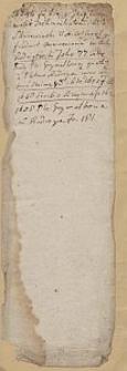 [Akta Urzędnika Stanu Cywilnego parafii Kurzelów] : Fragmenty wykazów danin płaconych na rzecz parafii Kurzelów. 1697-1756