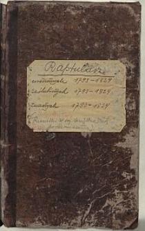 [Akta Urzędnika Stanu Cywilnego parafii Zduńska Wola] 1793-1824