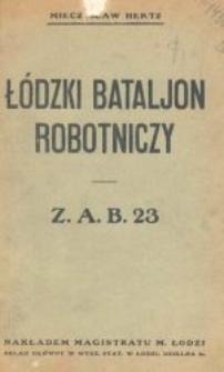 Łódzki Bataljon Robotniczy : Z. A. B. 23