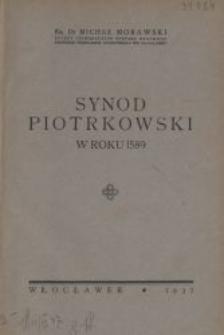 Synod piotrkowski w roku 1589