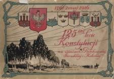 125-cio lecie Konstytucji na ziemiach piotrkowskiej, sieradzkiej i kaliskiej