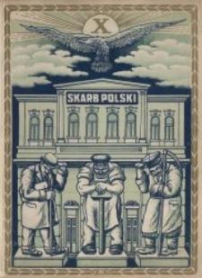 Krótki zarys historji rozwoju skarbowości z okazji dziesięciolecia Stowarzyszenia Urzędników Skarbowych Okręgu Łódzkiego : 1918-1928