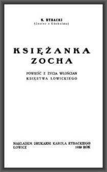 Księżanka Zocha : powieść z życia włościan Księstwa Łowickiego
