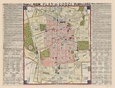 Plan' g. Lodzi : Plan m. Łodzi = Plan v. Lodz / grafičeskoe zavedenie S. Terakovkij.