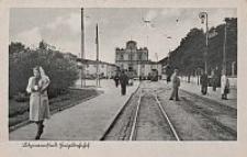 Litzmannstadt, Hauptbahnhof