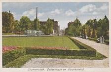 Litzmannstadt, Gartenanlage am Hauptbahnhof