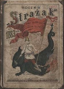 """Rocznik """"Strażak"""" : na rok zwyczajny 1883. R. 2"""
