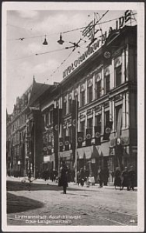Litzmannstadt, Adolf-Hitlerstr. Ecke Langemarckstr.