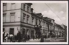 Litzmannstadt, Adolf-Hitlerstr. Ecke Moltkestr.