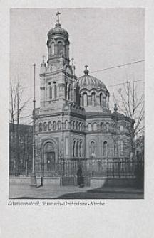 Litzmannstadt, Russisch-Orthodoxe-Kirche