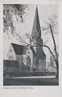 Litzmannstadt, St. Matthäi-Kirche