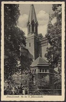 Litzmannstadt, an der St. Johanniskirche