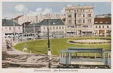 Litzmannstadt, am Deutschlandplatz