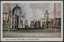 Litzmannstadt, Adolf Hitler a. Deutschlandplatz