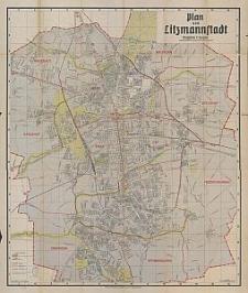 Plan von Litzmannstadt : mit Strassenverzeichnis / causgeführt von Erwin Thiem