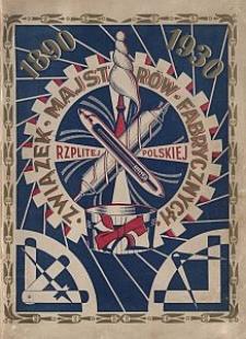 Krótki zarys historji Związku Majstrów Fabrycznych Rzeczypospolitej Polskiej : 1890-1930