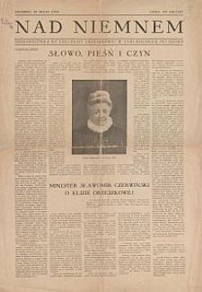 Nad Niemnem : jednodniówka ku czci Elizy Orzeszkowej w XXIII rocznicę jej zgonu : Grodno, 18 maja 1933