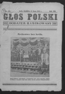 Głos Polski : dodatek ilustrowany. 1925-07-12 R. 8 nr 188