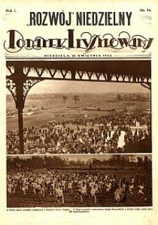 """""""Rozwój"""" Niedzielny : dodatek ilustrowany. 1925-04-26 R. 1 nr 16"""