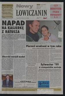 Nowy Łowiczanin : tygodnik Ziemi Łowickiej. 2000-01-06 R. 11 nr 1
