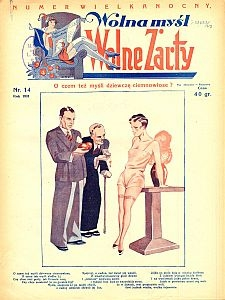 Wolna Myśl Wolne Żarty. 1931 [R. 13] nr 14