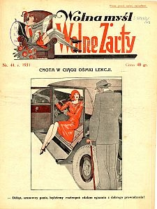 Wolna Myśl Wolne Żarty. 1931 [R. 13] nr 44