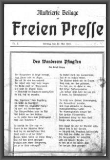 Illustrierte Beilage : zur Freien Presse. 1923-05-20 1. Jg nr 1