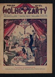 Wolna Myśl Wolne Żarty : tygodnik artystyczno-literacki i satyryczno-humorystyczny. 1927 R. 9 no 10