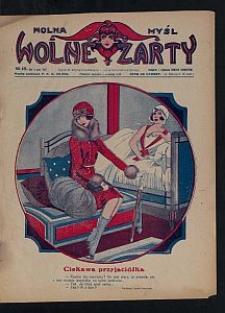 Wolna Myśl Wolne Żarty : tygodnik artystyczno-literacki i satyryczno-humorystyczny. 1927 R. 9 no 12