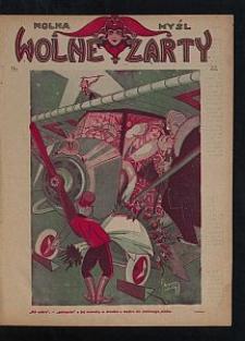 Wolna Myśl Wolne Żarty. [1927 R. 9] nr 22