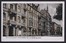 Litzmannstadt, Adolf Hitler Str. in Richtung Nord